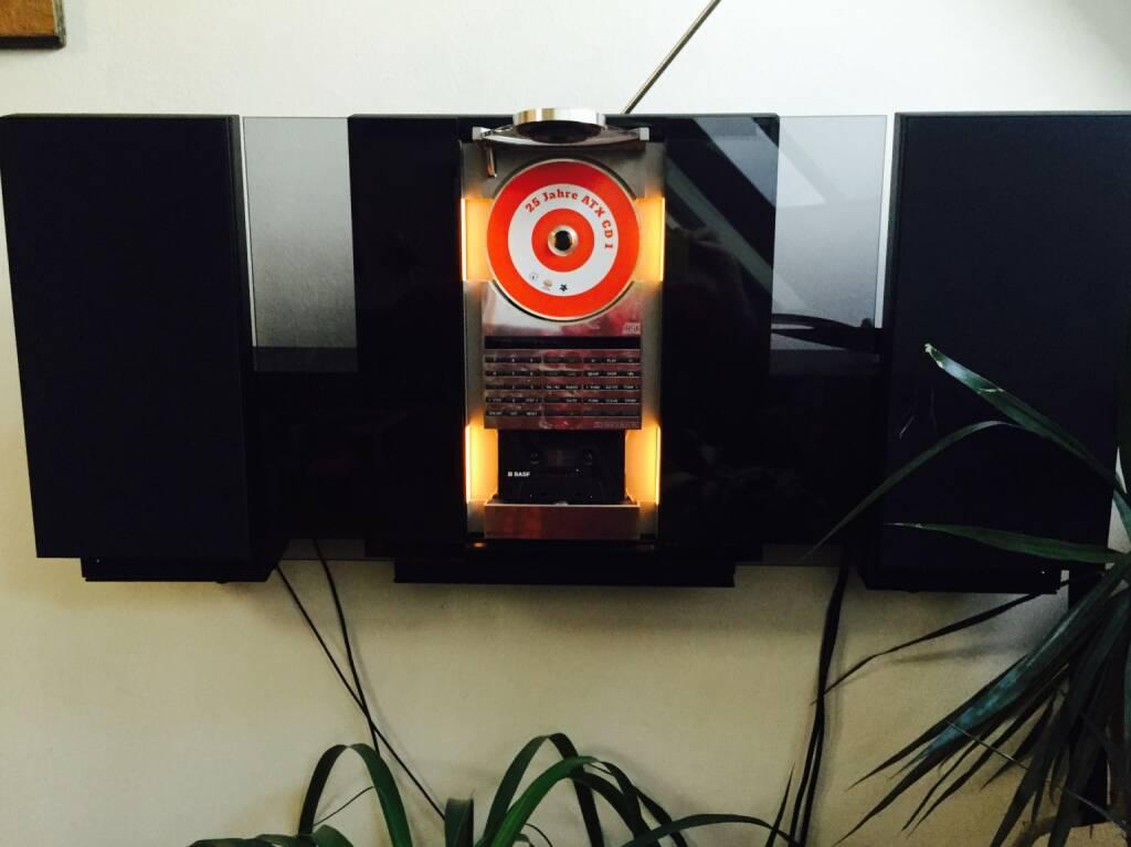 Die 25 Jahre ATX-CD erstmals eingelegt (12.02.2016)