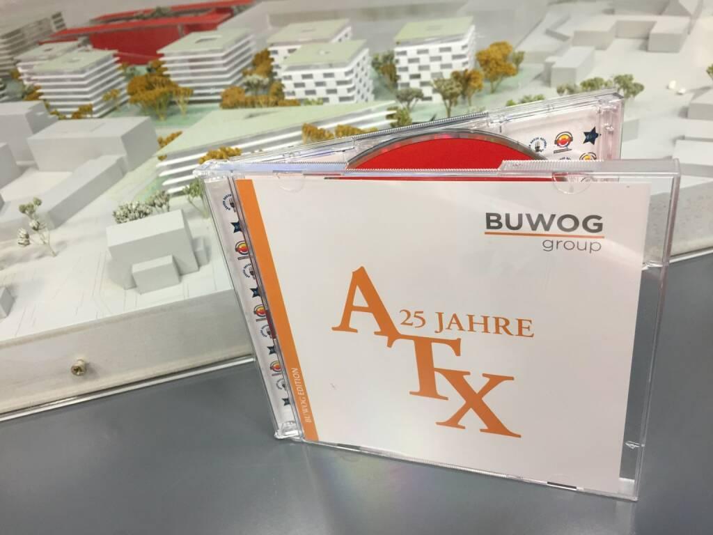 Bei der Buwog: 1000 Stück der 25-Jahre-ATX in der Sonderedition wurden geliefert (12.02.2016)