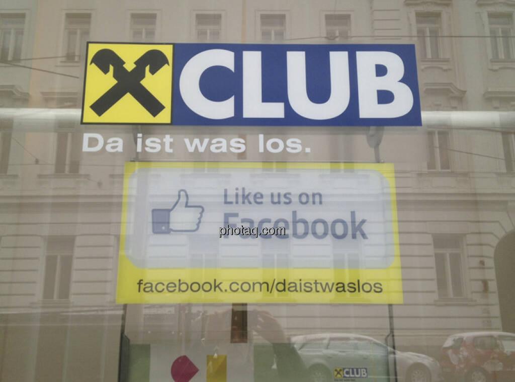 Raiffeisen Club Like us on Facebook (05.04.2013)