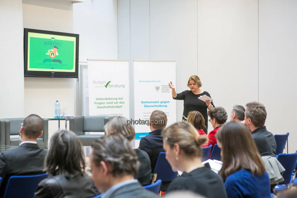 Sigrun Reininghaus, Journalistin, Moderatorin, © Martina Draper/photaq (24.02.2016)