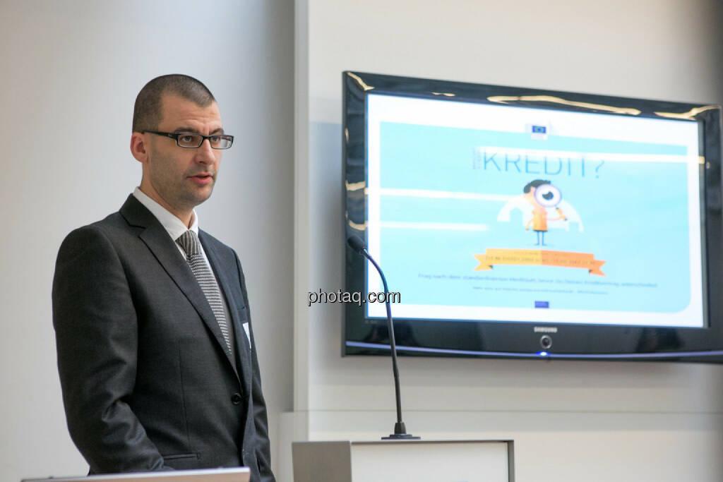 Clemens Mitterlehner, Geschäftsführer der ASB Schuldnerberatungen GmbH, © Martina Draper/photaq (24.02.2016)