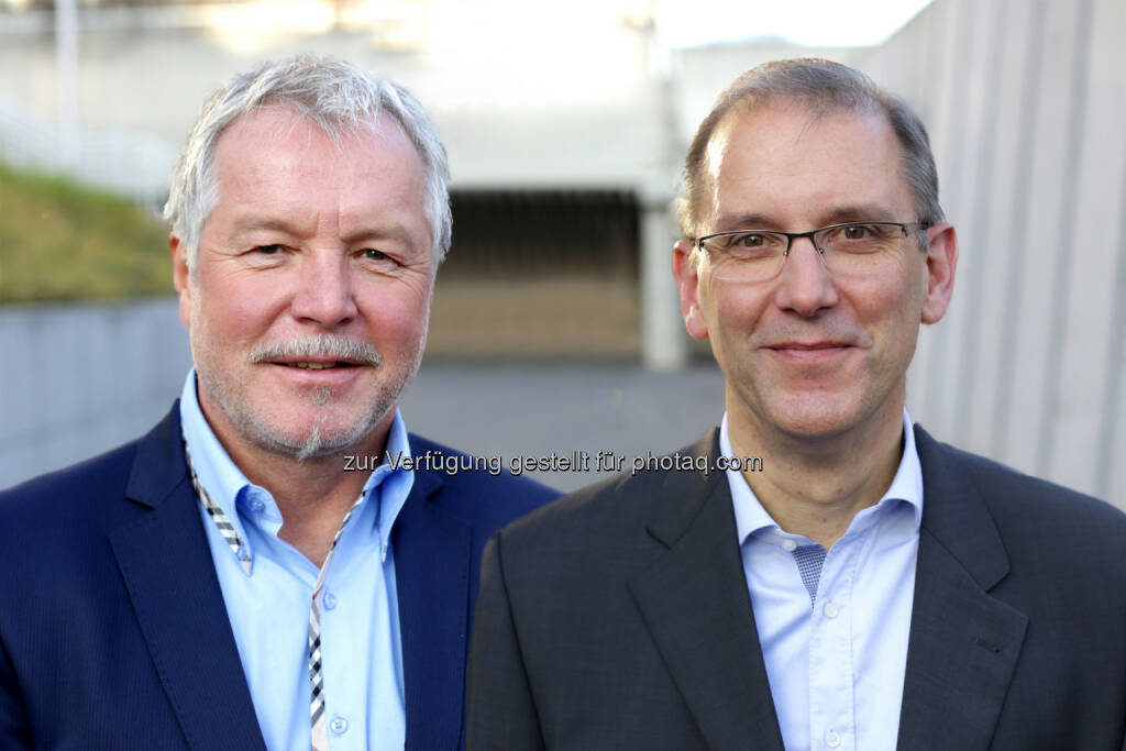 Bernhard Zinner, Bernd Seibel - die neuen Geschäftsführer beim Biotech-Unternehmen Zytoprotec : Fotocredit: Zytoprotec, © Aussendung (25.02.2016)