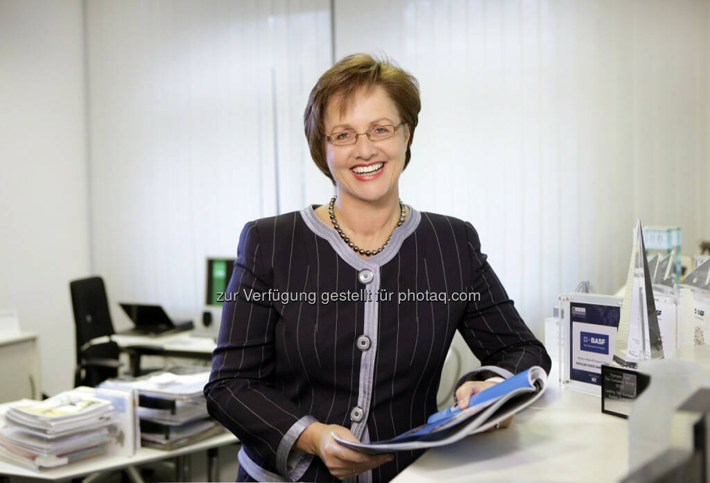 Magdalena Moll wird neue Investor Relations Leiterin bei OMV : Fotocredit: BASF, © Aussender (26.02.2016)
