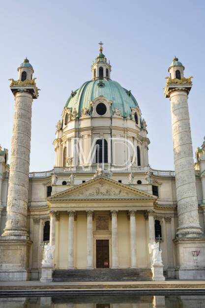 Karlskirche, Wien, © Martina Draper (06.04.2013)