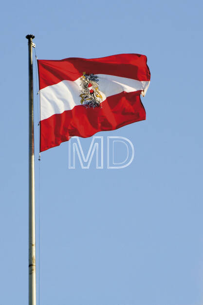 Österreichfahne , © Martina Draper (06.04.2013)