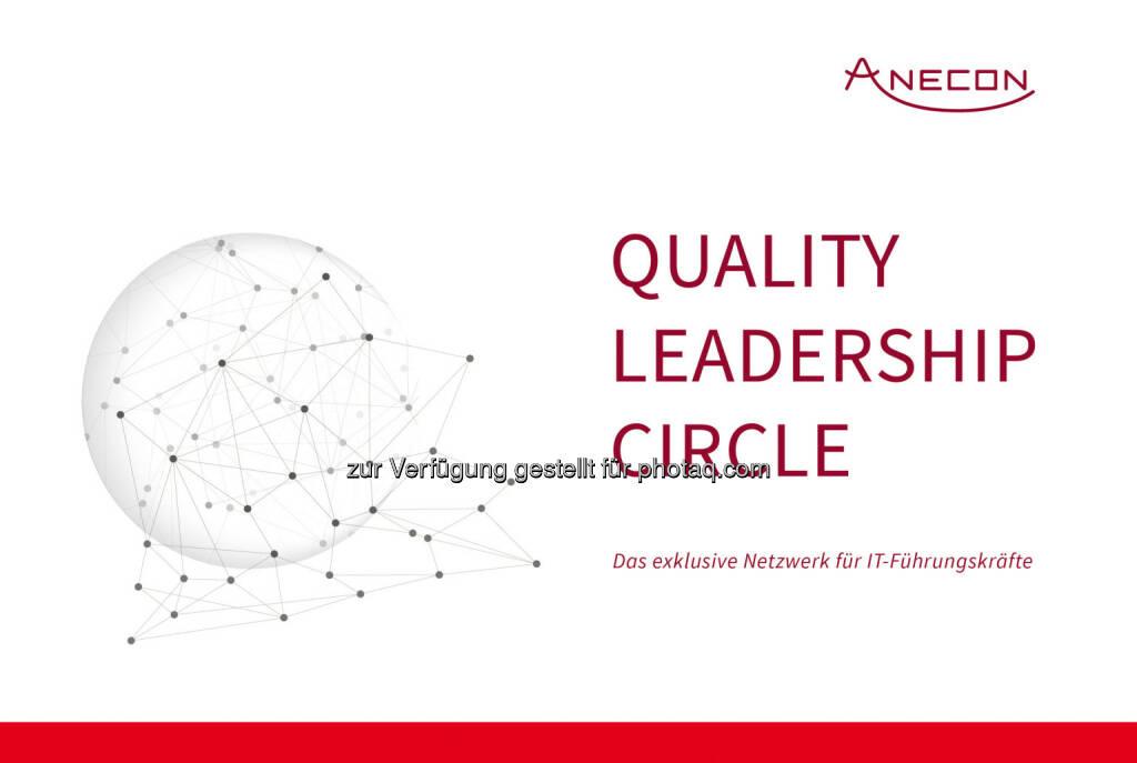 """""""Quality Leadership Circle"""" : Smarte Zusammenkunft heimischer IT-Führungskräfte : Anecon bietet mit dem Quality Leadership Circle ein Netzwerk, in dem sich CIOs und Quality Leader aus der Wirtschaft zu Themen rund um Software-Qualität und -Produktivität austauschen : Fotocredit: Anecon, © Aussender (03.03.2016)"""