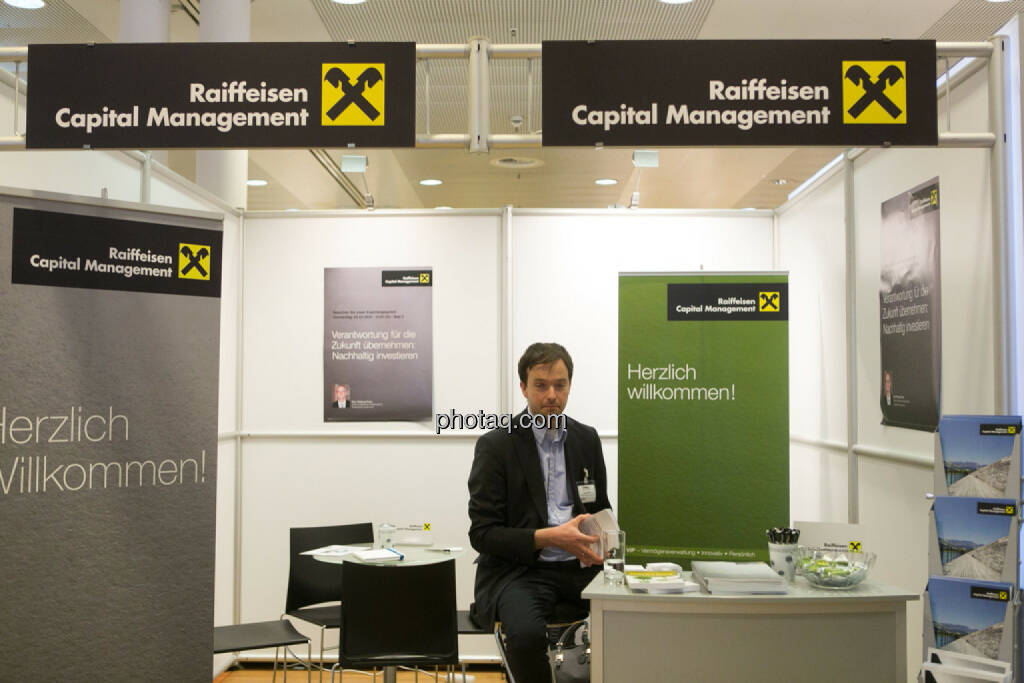 Raiffeisen Capital Management am Fonds Kongress, © Martina Draper/photaq (03.03.2016)