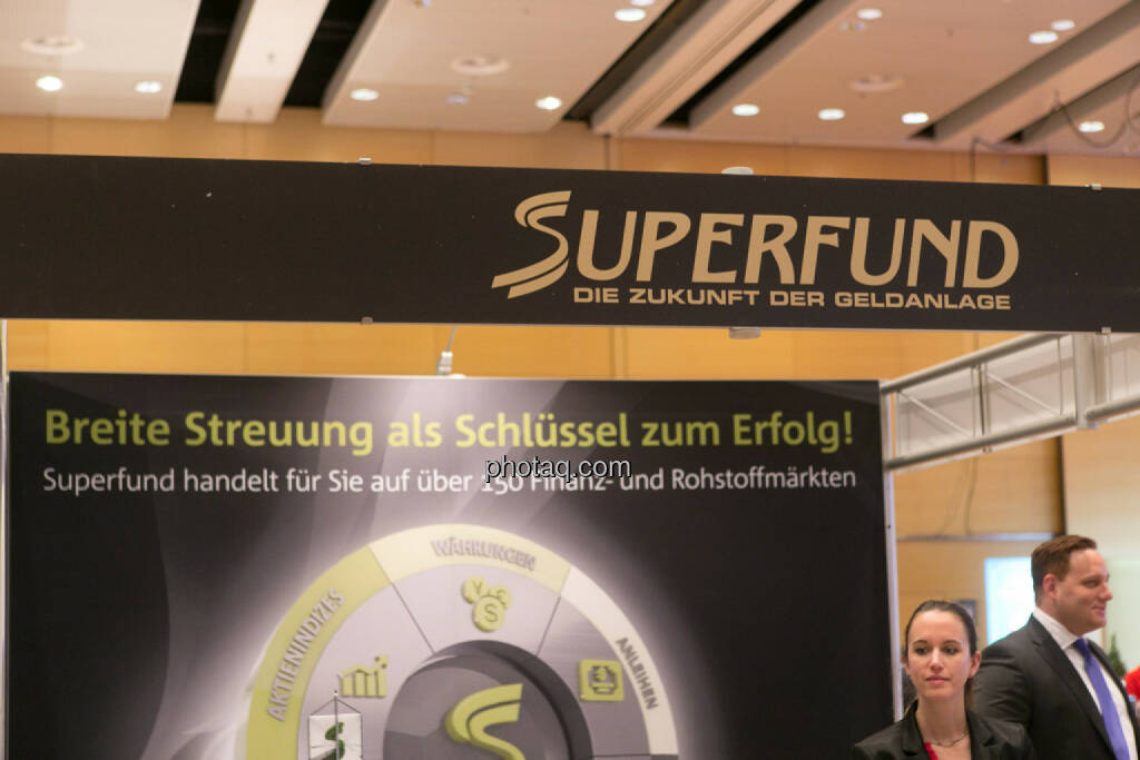 Superfund am Fonds Kongress, © Martina Draper/photaq (03.03.2016)