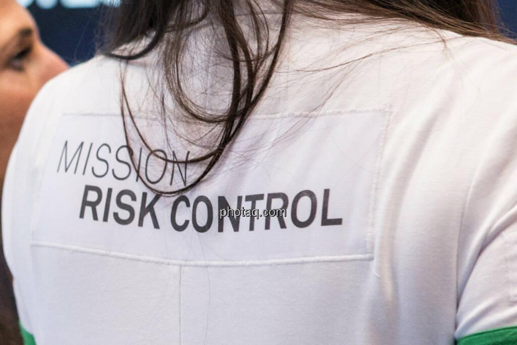 Risk control, Risiko, Risikokontrolle, © Martina Draper/photaq (03.03.2016)