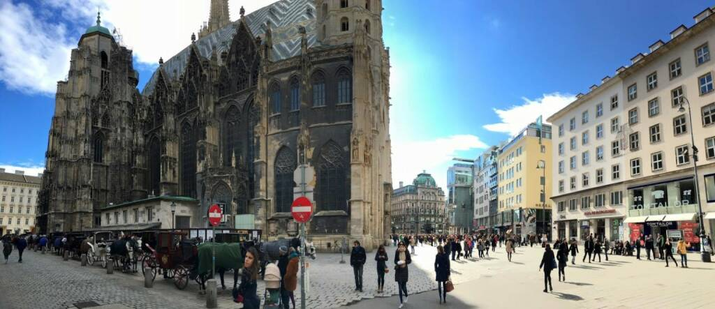Wien Stephansplatz, © Dirk Herrmann (08.03.2016)