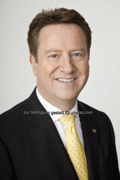 Walter Hitziger zum Vorstand Brief, Werbepost & Filialen der Post wiederbestellt : Fotocredit: Österreichische Post, © Aussendung (09.03.2016)