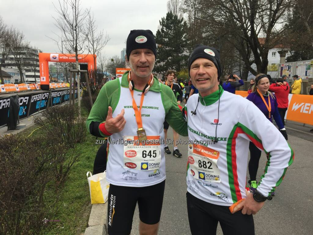 Mit Wienerwaldschnecken-Kollegen Andreas Schweighofer (13.03.2016)