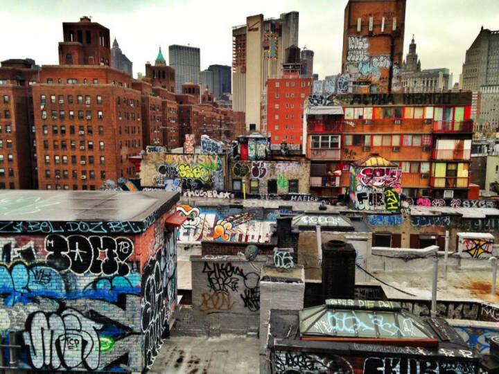 NYC, New York City, USA, Graffity