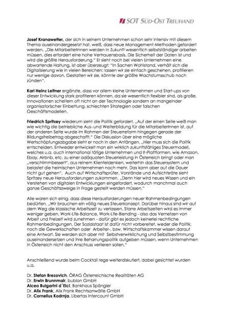 SOT-Frühjahrsgespräch: Digitalisierung - die vierte industrielle Revolution?, Seite 2/3, komplettes Dokument unter http://boerse-social.com/static/uploads/file_792_sot-fruhjahrsgesprach_digitalisierung_-_die_vierte_industrielle_revolution.pdf (16.03.2016)
