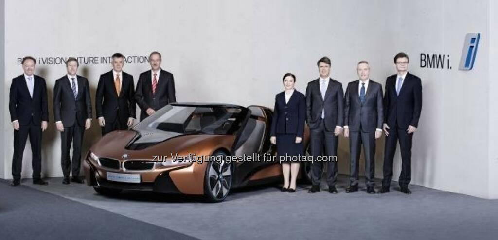 Der Gesamtvorstand der BMW AG : BMW Group Bilanzpressekonferenz am 16.03.2016 in der BMW Welt in München : BMW Group will 2016 ihren Erfolgskurs fortsetzen :  © BMW Group, © Aussender (16.03.2016)