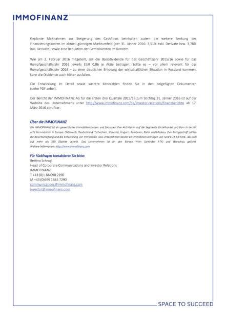 Immofinanz: Konzernergebnis, Seite 3/3, komplettes Dokument unter http://boerse-social.com/static/uploads/file_793_immofinanz_konzernergebnis.pdf (16.03.2016)
