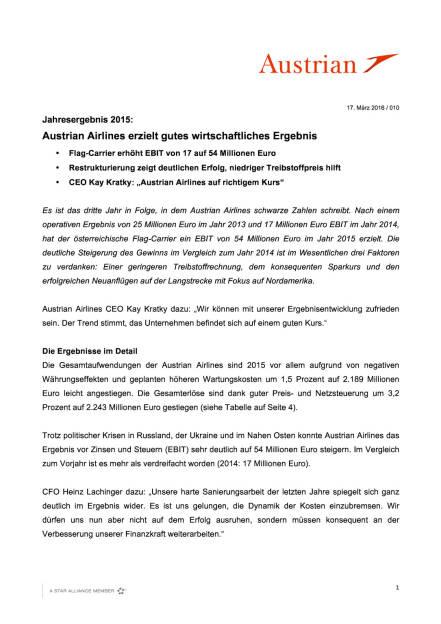 Austrian Airlines Ergebnis 2015, Seite 1/4, komplettes Dokument unter http://boerse-social.com/static/uploads/file_798_austrian_airlines_ergebnis_2015.pdf (17.03.2016)