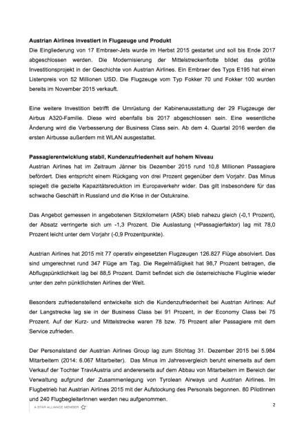 Austrian Airlines Ergebnis 2015, Seite 2/4, komplettes Dokument unter http://boerse-social.com/static/uploads/file_798_austrian_airlines_ergebnis_2015.pdf (17.03.2016)