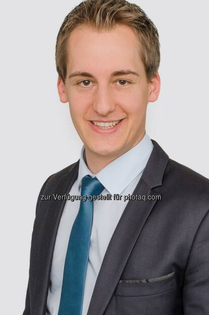 Christoph Schmidt (28) wird per 1. April 2016 mit der Geschäftsführung der switch Energievertriebsgesellschaft m.b.H. betraut, einem 100prozentigen Tochterunternehmen der EnergieAllianz Austria GmbH (EAA) : Fotocredit: Energie Burgenland, © Aussender (21.03.2016)