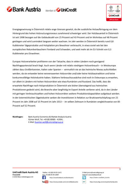 Bank Austria: Holzverarbeitung profitiert 2016 von steigenden Wohnbauinvestitionen, Seite 3/3, komplettes Dokument unter http://boerse-social.com/static/uploads/file_812_bank_austria_holzverarbeitung_profitiert_2016_von_steigenden_wohnbauinvestitionen.pdf (23.03.2016)