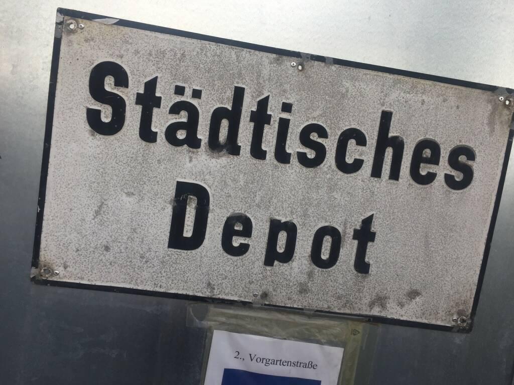 Städtisches Depot Schweizer Franken, © diverse photaq (27.03.2016)