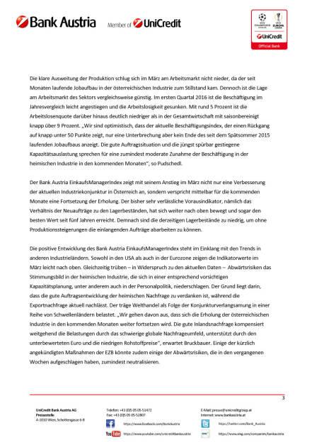 Bank Austria EinkaufsManagerIndex im März: Österreichs Industrie steigert Wachstumstempo seit Jahresbeginn, Seite 3/4, komplettes Dokument unter http://boerse-social.com/static/uploads/file_824_bank_austria_einkaufsmanagerindex_im_marz_osterreichs_industrie_steigert_wachstumstempo_seit_jahresbeginn.pdf (30.03.2016)