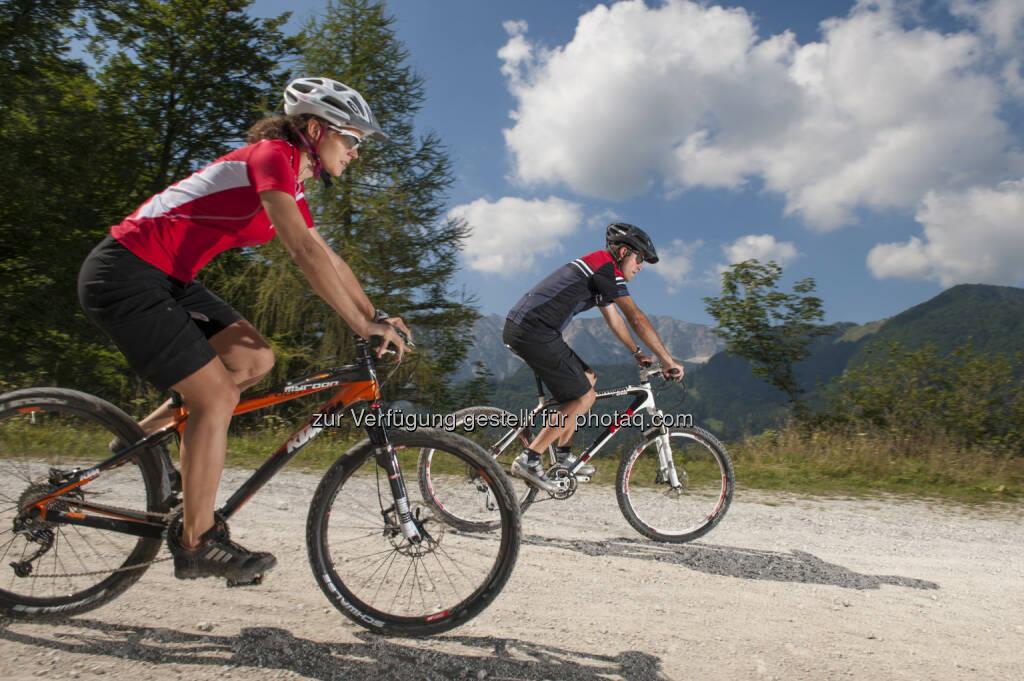 Naturfreunde Österreich: RadfahrerInnen fordern: Freie Fahrt auf Forststraßen (Bild: Hermann Erber/Naturfreunde Österreich), © Aussender (31.03.2016)