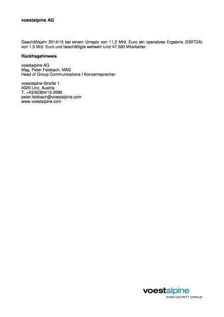 Weiterer HBI-Großauftrag für voestalpine in Texas, Seite 2/2, komplettes Dokument unter http://boerse-social.com/static/uploads/file_828_weiterer_hbi-grossauftrag_fur_voestalpine_in_texas.pdf (01.04.2016)