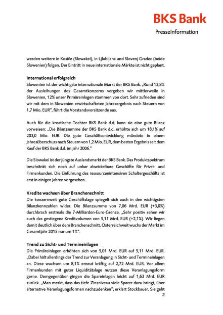 BKS mit starken 2015er-Zahlen, Seite 2/6, komplettes Dokument unter http://boerse-social.com/static/uploads/file_829_bks_mit_starken_2015er-zahlen.pdf (01.04.2016)