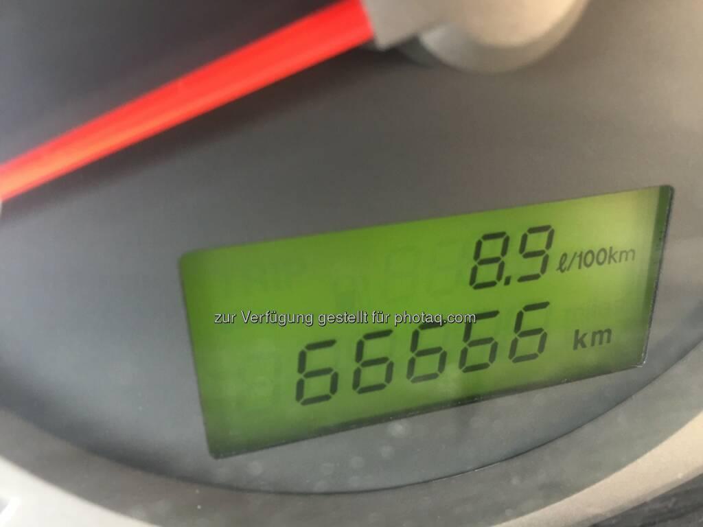 66666 Km hat mein Auto geleistet (03.04.2016)