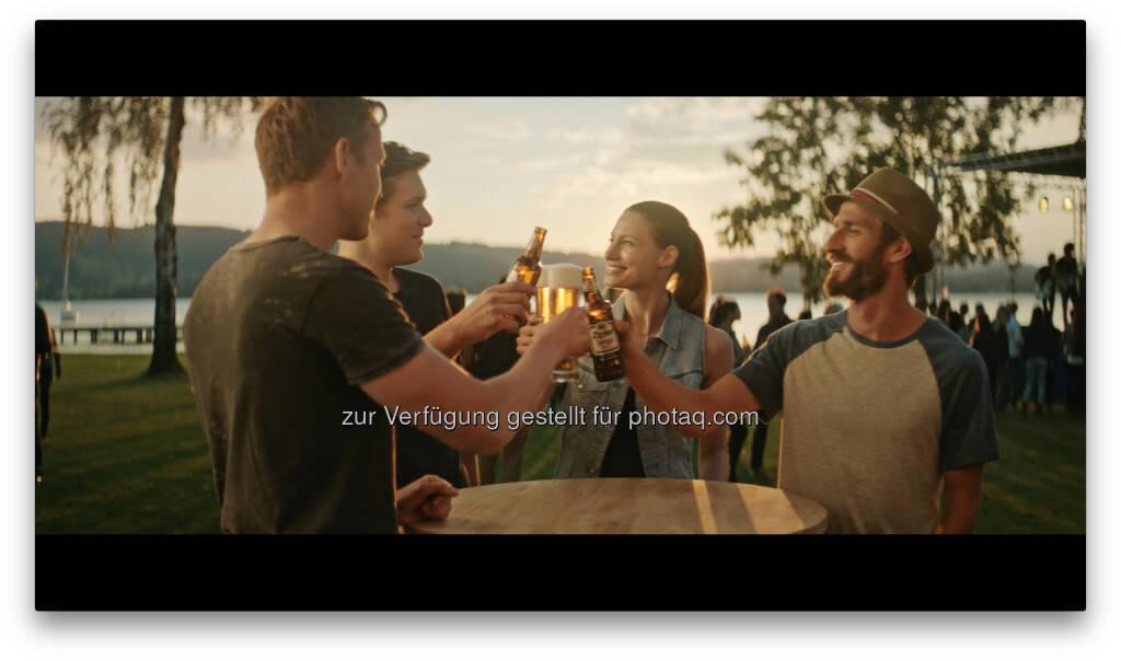 Szene neuer TV-Spot : Das Bier der besten Konzerte : Zipfer geht auch musikalisch den eigenen Weg : Fotocredit: Brau Union Österreich, © Aussender (04.04.2016)