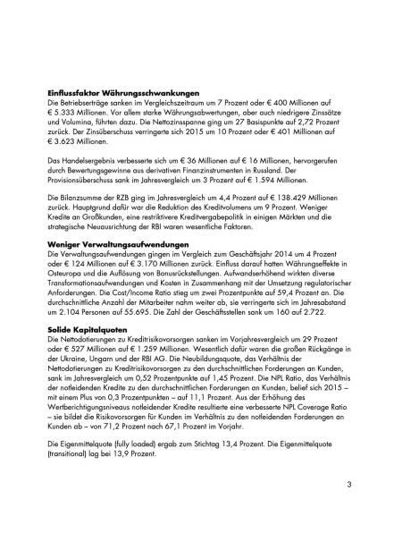 RZB-Gruppe erzielt respektables Konzernergebnis, Seite 3/5, komplettes Dokument unter http://boerse-social.com/static/uploads/file_847_rzb-gruppe_erzielt_respektables_konzernergebnis.pdf (05.04.2016)