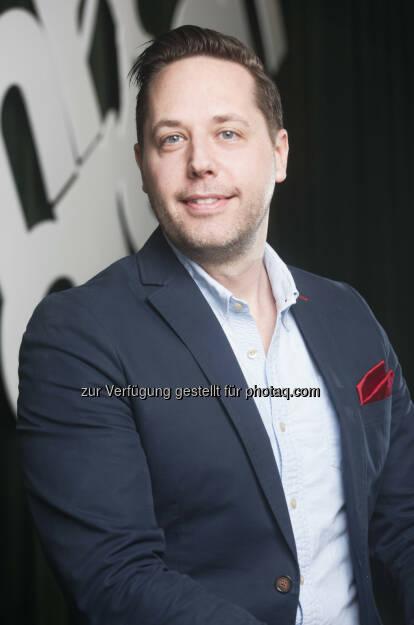 David Nordberg : Mr Green erweitert Management : David Nordberg neuer CMO : Fotocredit: (c) Mr Green Limited (TM) https://www.mrgreen.com, © Aussendung (05.04.2016)