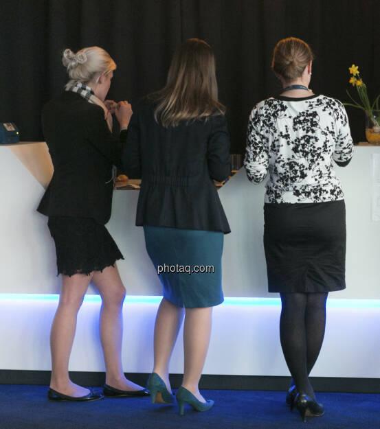 Immofinanz - Privatanleger Roadshow, drei Damen, http://privatanleger.immofinanz.com , © Martina Draper für Immofinanz (10.04.2013)