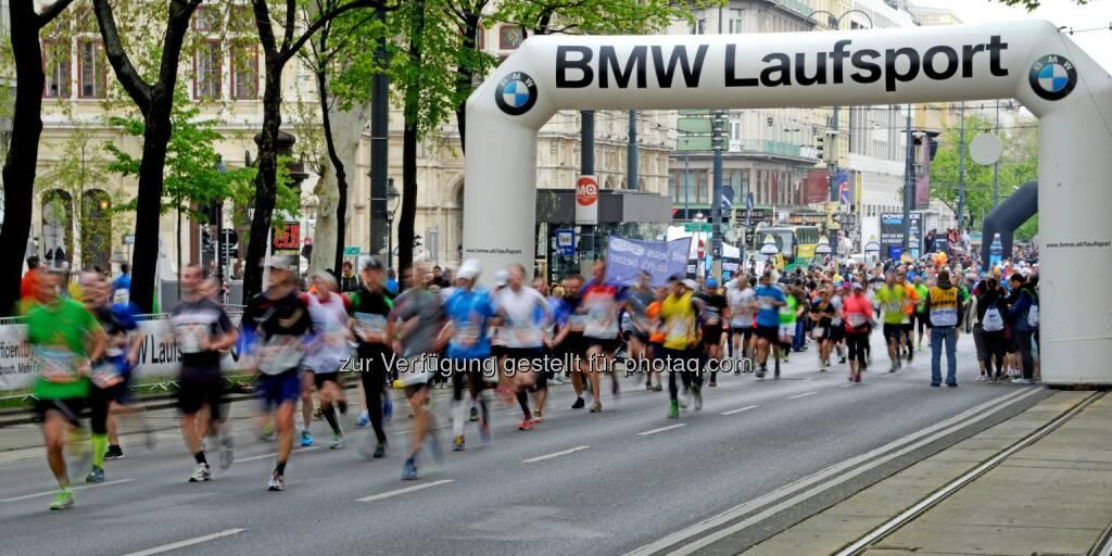 Vienna City Marathon : BMW setzt erfolgreiche Partnerschaft mit dem Vienna City Marathon auch 2016 fort : BMW ist bereits zum vierten Mal Partner des VCM : Fotocredit: Copyright BMW AG, © Aussendung (06.04.2016)