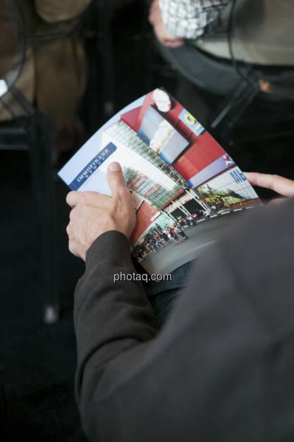 Immofinanz-Folder - Privatanleger Roadshow, http://privatanleger.immofinanz.com , © Martina Draper für Immofinanz (10.04.2013)