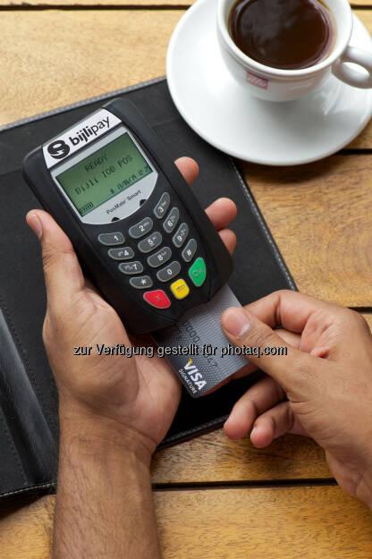 Wirecard mPOS-Lösung: Mit Bijlipay bargeldlos bezahlen (Bild: obs/Wirecard AG/Bijlipay/Wirecard) , © Aussender (07.04.2016)