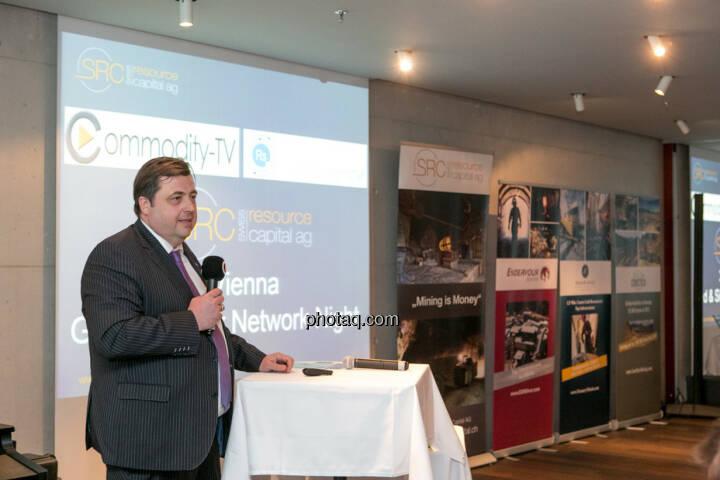 Jochen Staiger, Swiss Resource Capital AG