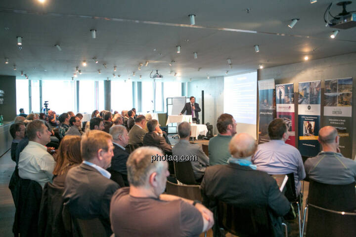 Jochen Staiger, Swiss Resource Capital AG, 3. Vienna Gold & Silver Network Night