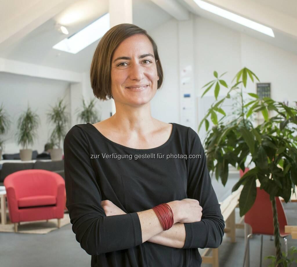 Emily Kruse : Die Finanzexpertin verstärkt ab April 2016 als Group CFO die Knip AG : Fotocredit: Knip Deutschland GmbH, © Aussender (14.04.2016)