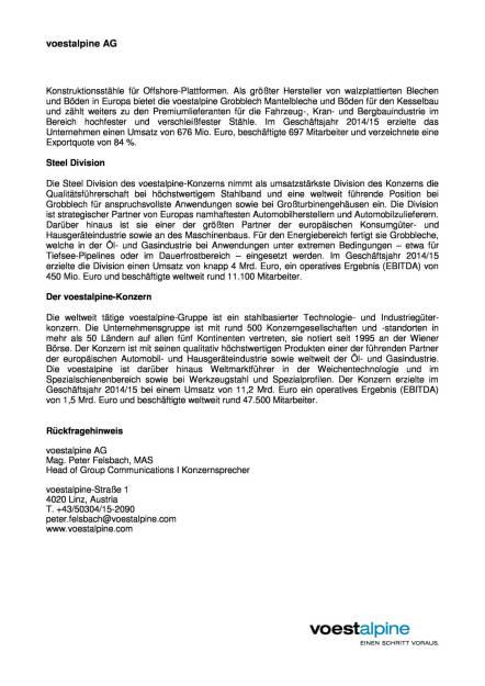 voestalpine AG: Großauftrag für Pipeline-Projekt Nord Stream 2, Seite 2/2, komplettes Dokument unter http://boerse-social.com/static/uploads/file_908_voestalpine_ag_grossauftrag_fur_pipeline-projekt_nord_stream_2.pdf (19.04.2016)
