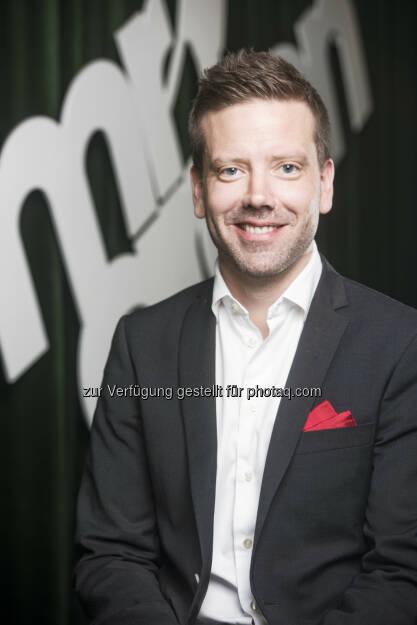 Oskar Mühlbach : Mr Green engagiert Oskar Mühlbach als Chief Operation Officer : Fotocredit: (c) Mr Green Limited (TM) http://www.mrgreen.com, © Aussendung (19.04.2016)