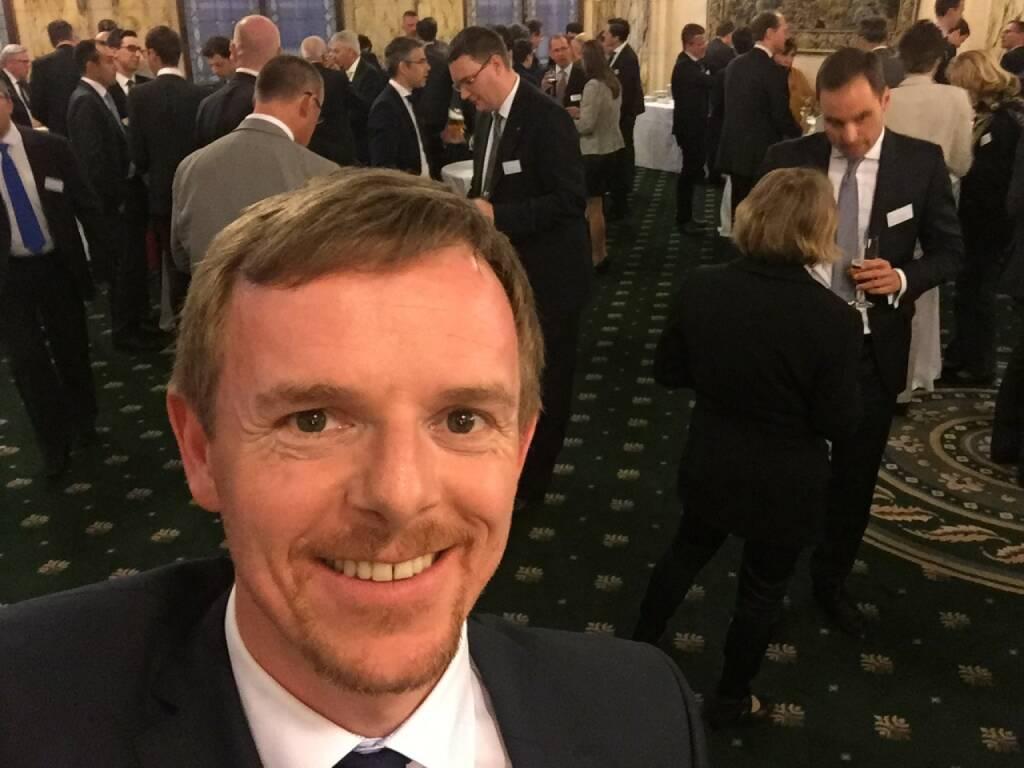 Christian-Hendrik Knappe Selfie, Deutsche Bank (22.04.2016)