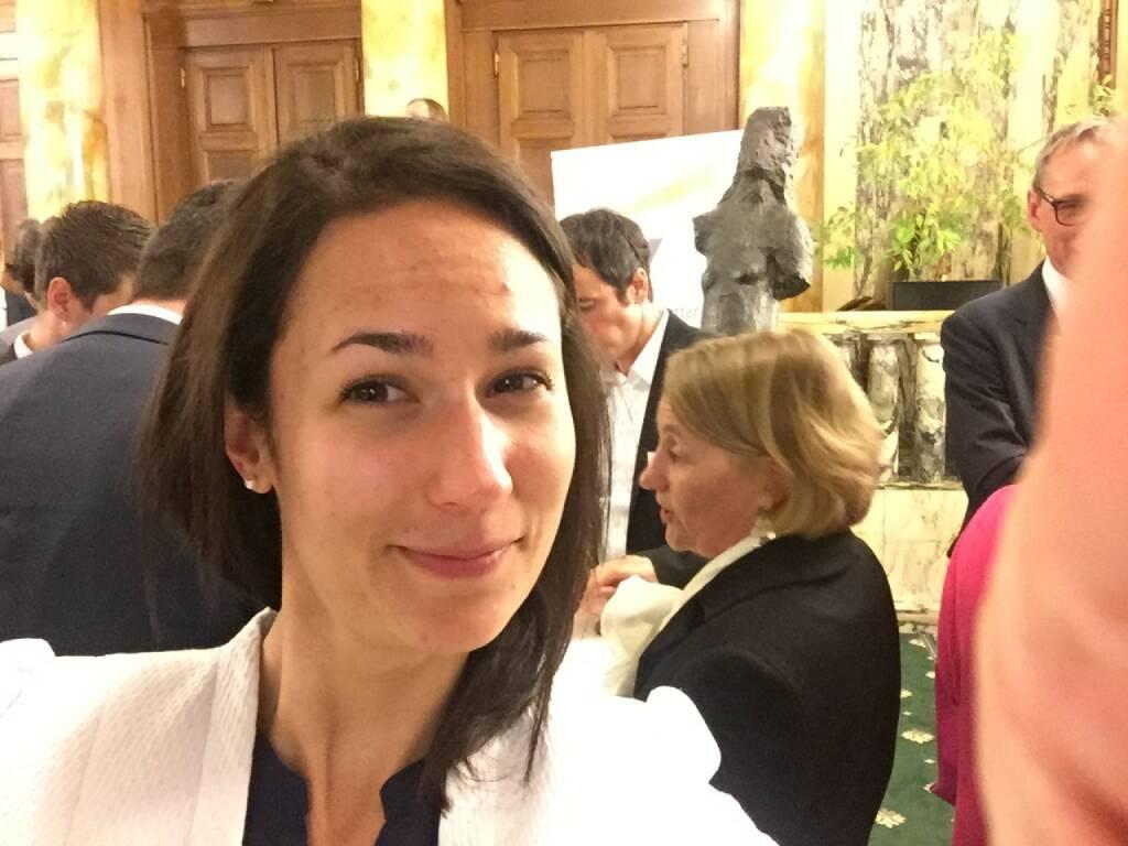 Alana Maue Selfie, Socgen (22.04.2016)