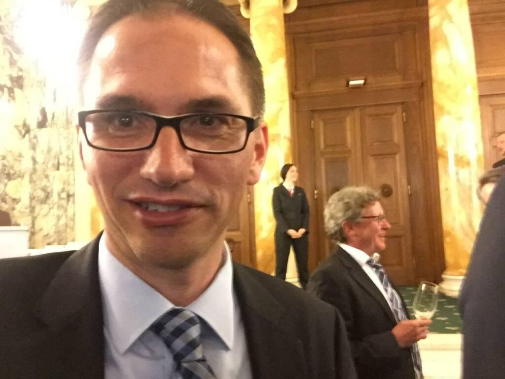 Alexander Irza Selfie, Erste Group (22.04.2016)