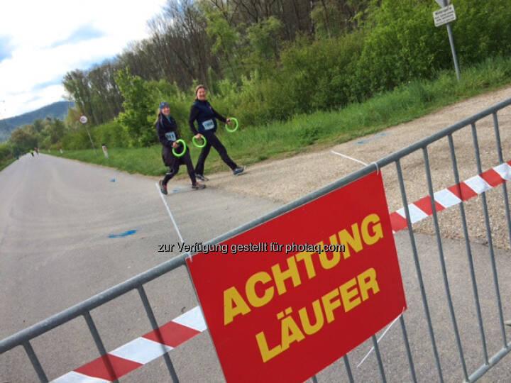 Achtung Läufer, 2 Städte Lauf