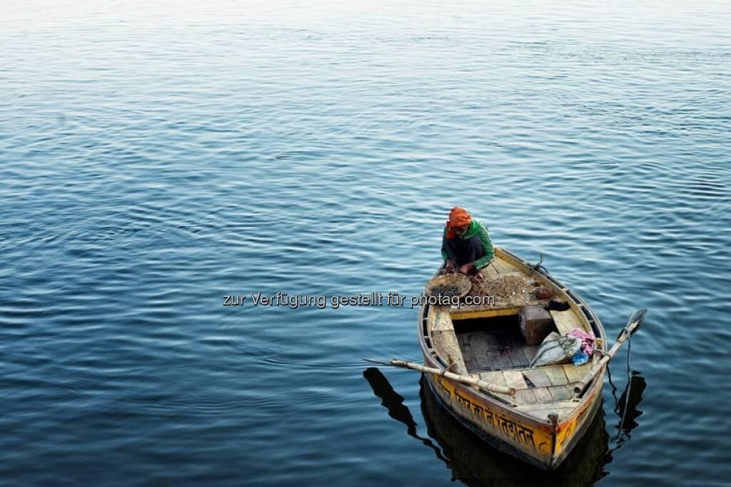 Wasser, Boot, Indien by http://www.florap.com  (13.04.2013)