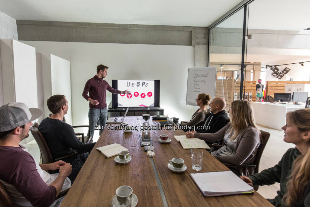 Content Marketing Workshop bei Sportalpen : 5 Schritte zur Content Marketing Strategie für Hotels und Regionen : Fotocredit: Sportalpen Marketing, © Aussender (28.04.2016)