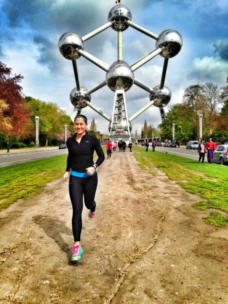 Monika Kalbacher, Atomium, Brüssel, Belgien (30.04.2016)