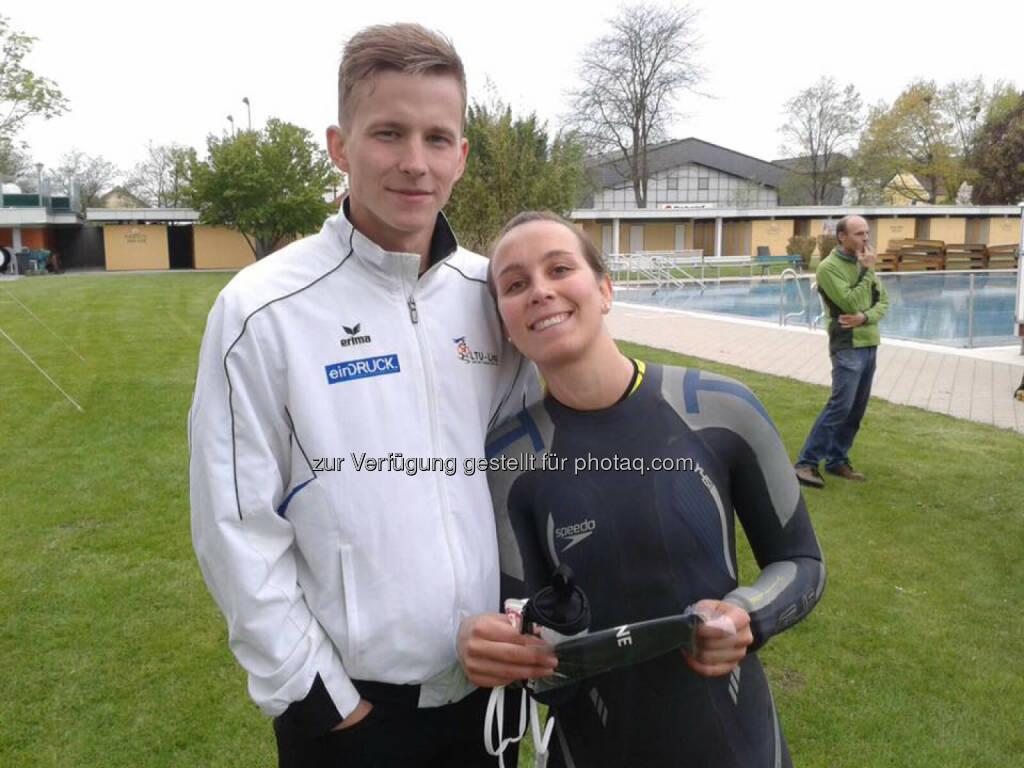 Martina Kaltenreiner beim 23. Braunauer Sprinttriathlon (02.05.2016)